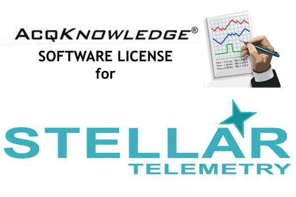 add licenses for Stellar Telemetry to AcqKnowledge