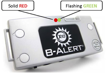 B-Alert X10 Wireless EEG LEDs