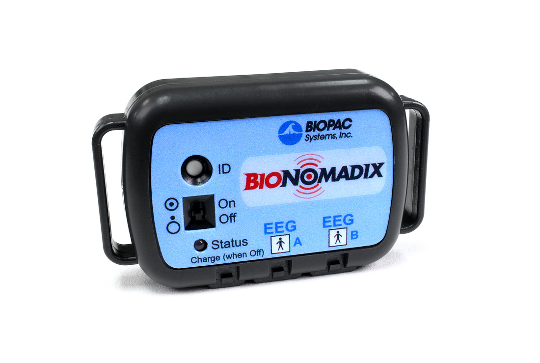 BioNomadix 2Ch Wireless EEG Set