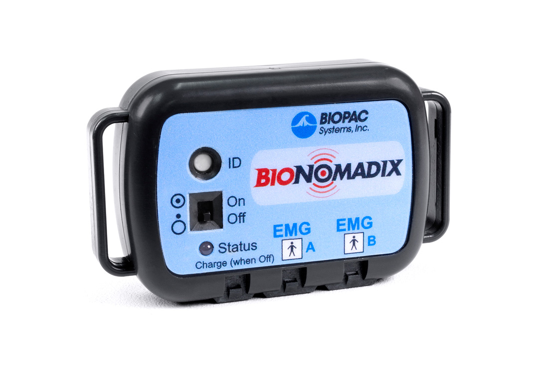 BioNomadix 2Ch Wireless EMG Set