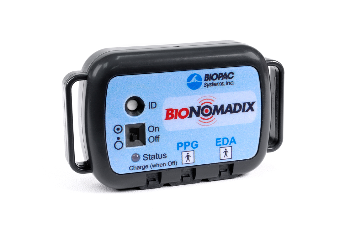 BioNomadix Wireless PPG and EDA Set