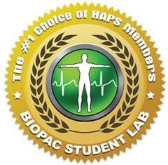 HAPS survey shows Biopac Student Lab is members' first choice