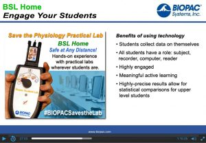 Biopac Student Lab features & benefits