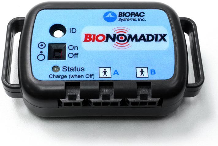 Battery Charge Status for BioNomadix Transmitters
