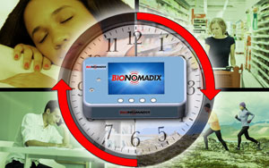 BioNomadix wireless logger