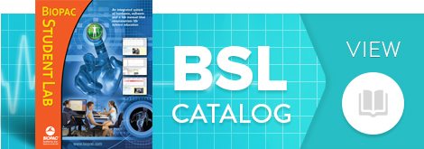 Biopac Student Lab Catalog - Life Science teaching systems