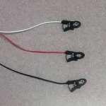 short, lightweight pinch leads