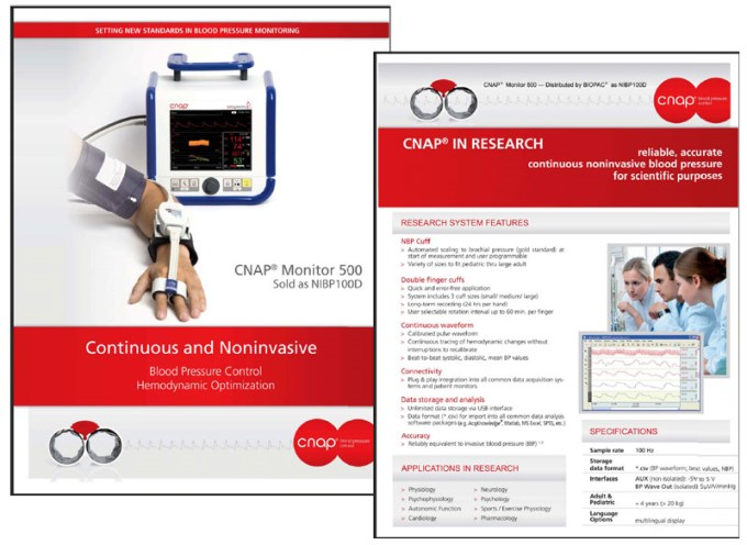 Continuous and noninvasive blood pressure control