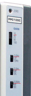 PPG100C swithc settings to record puilse