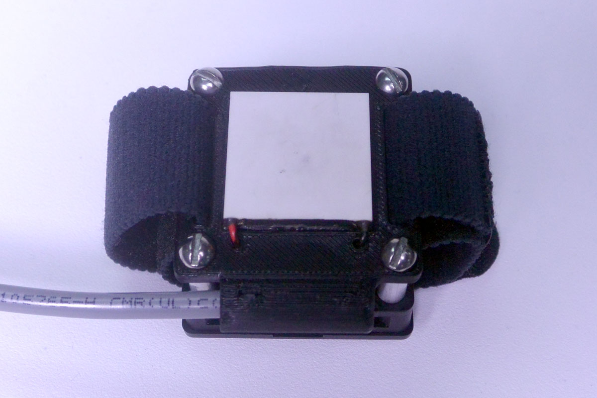 thermal stim contact area