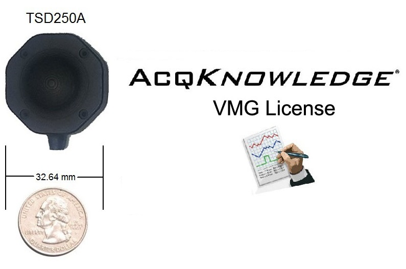 VMG Software License and TSD250A Transducer