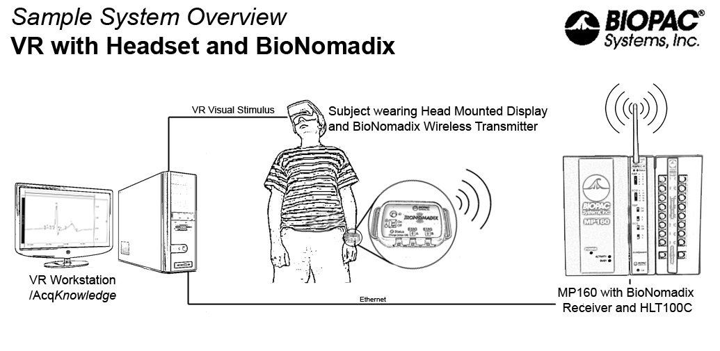 immersive affective stimuli system for vizard users