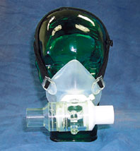 Face Mask, Adult, w/T-valve
