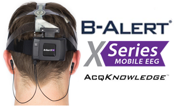 B-Alert X10 EEG System with AcqKnowledge and Cognitive State