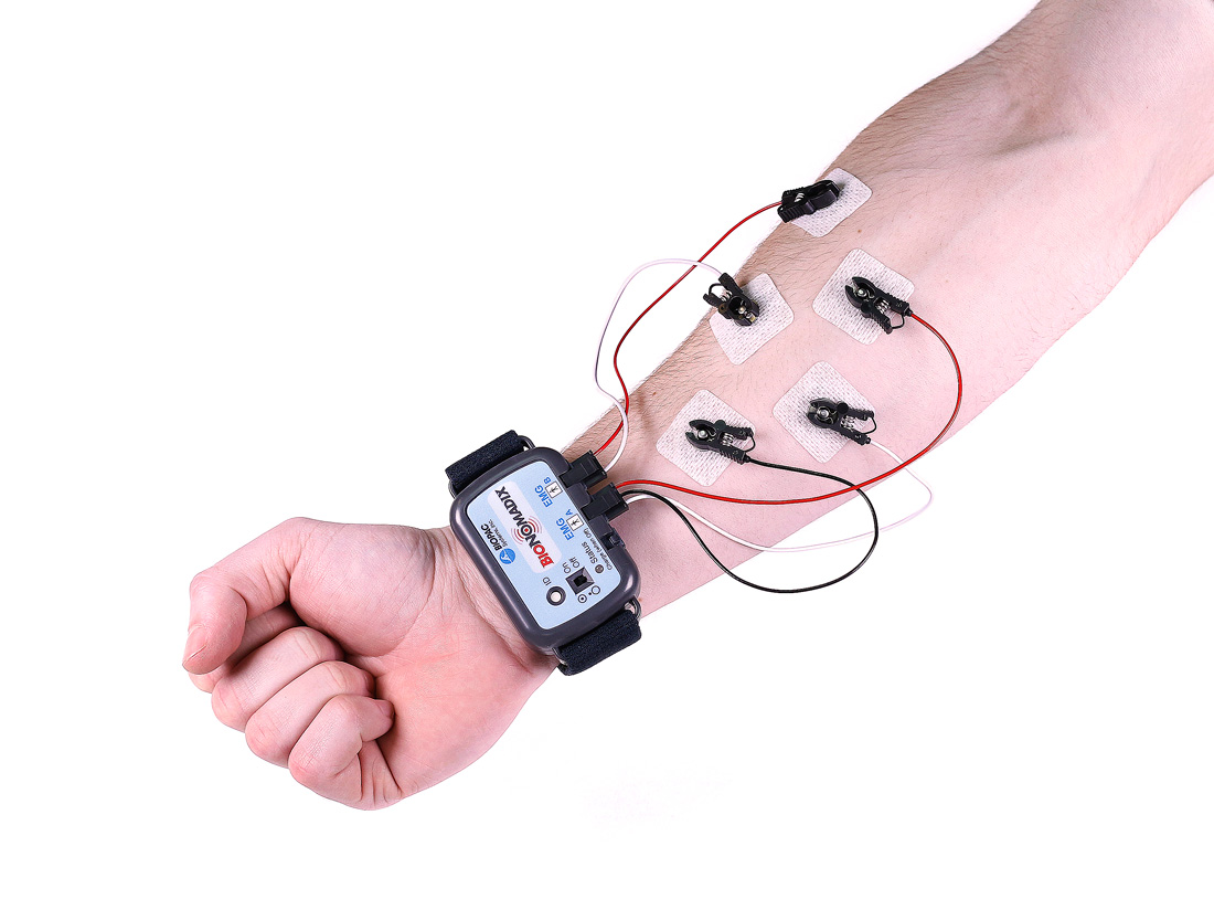 BioNomadix Wireless Physiology wrist strap