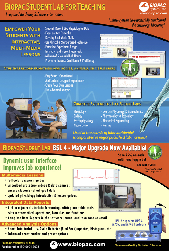 Click to request Biopac Student Lab info