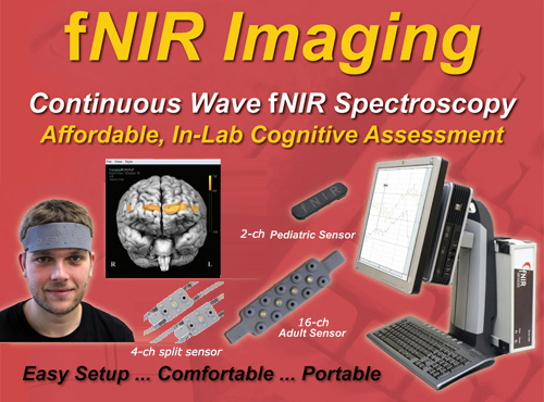 fnir oprical brain imaging for in-lab cognitive assessment