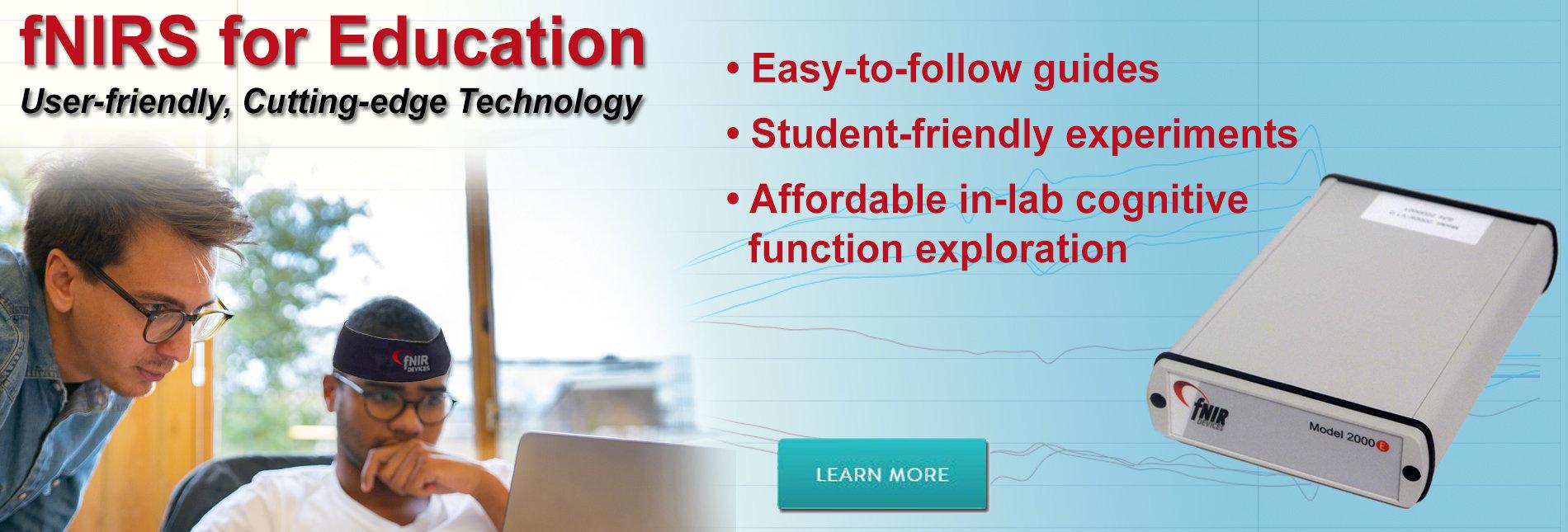 fNIRS Education System