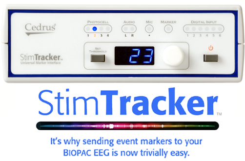 SuperLab and StimTracker USB Stim Presentation Marker System- Win