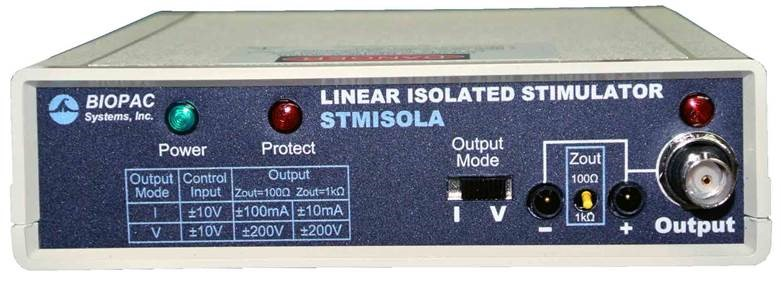 Current or Voltage Linear Isolated Stimulator