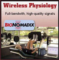 Wireless, physiology, recording